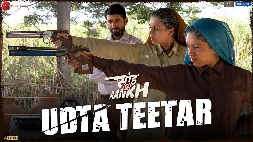 Udta Teetar Song From Movie Saand Ki Aankh