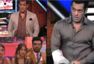 Salman Khan angry on Contestant