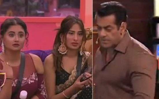 Salman Khan angry on Housemates