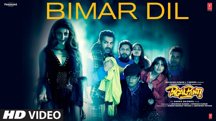 Bimar Dil Song pagalpanti movie