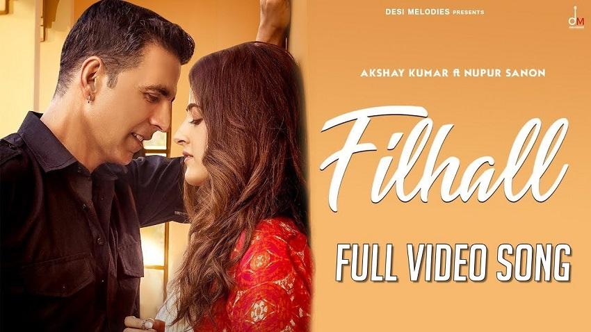 Filhall Song Akshay Kumar ft Nupur Sanon