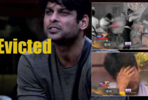 Siddharth Shukla evicted from bigg boss house 13