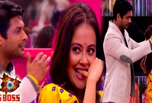 siddharth shukla devoleena bhattacharjee fight takes romantic turn
