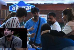 siddharth shukla evicted for two weeks bigg boss 13