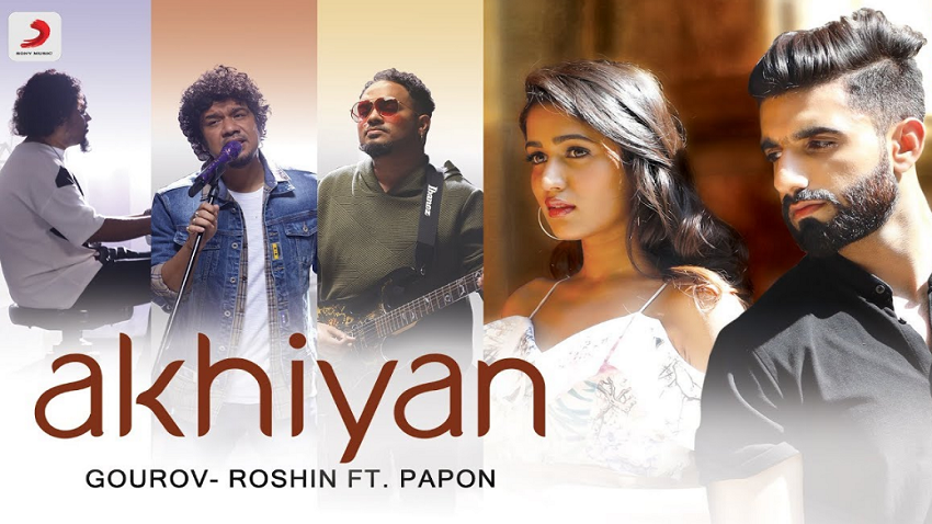 akhiyan full song and lyrics papon
