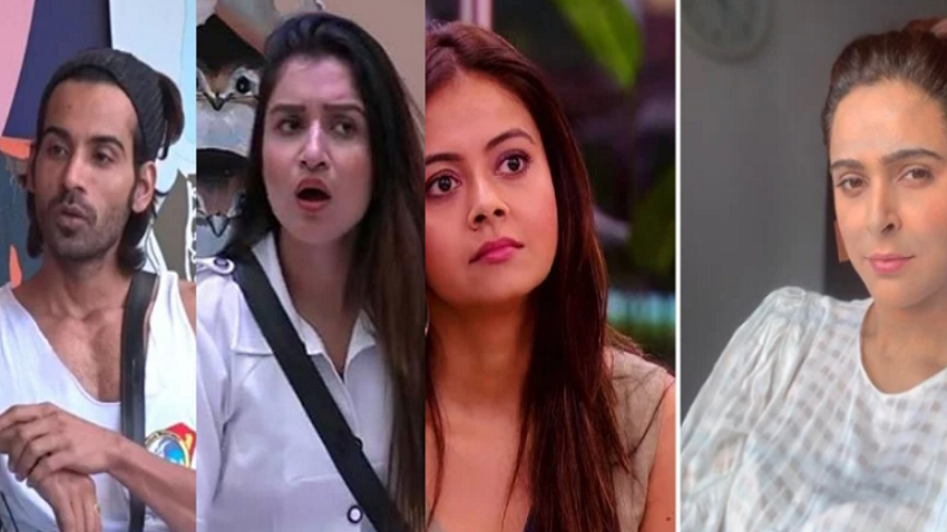 devoleena exits the show madhurima tuli enters arhaan khan shefali bagga re enters the bigg boss house