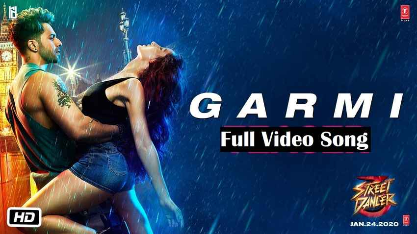 garmi song from movie street dancer