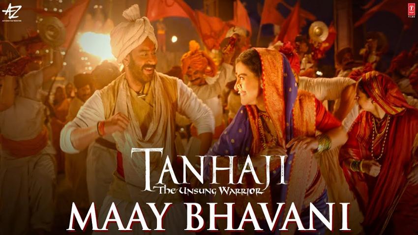 maay bhavani song movie tanhji the unsung warrior