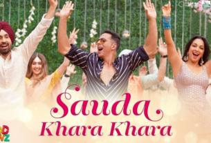 sauda khara khara song lyrics good newwz movie