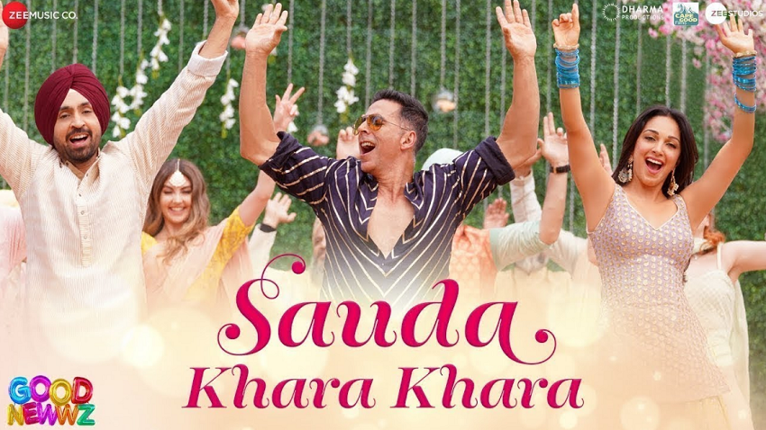 sauda khara khara song lyrics good newwz movie
