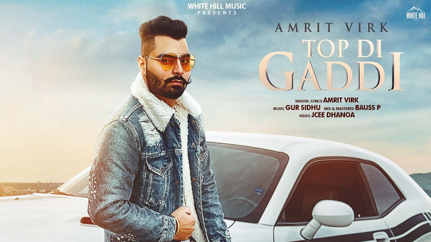 top di gaddi full song and lyrics amrit virk