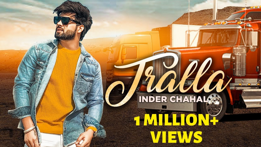 tralla full song and Lyrics by inder chahal