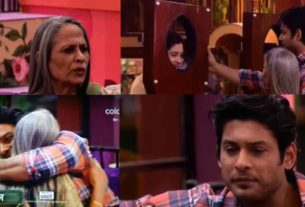 bigg boss 13 siddharth shukla emotional