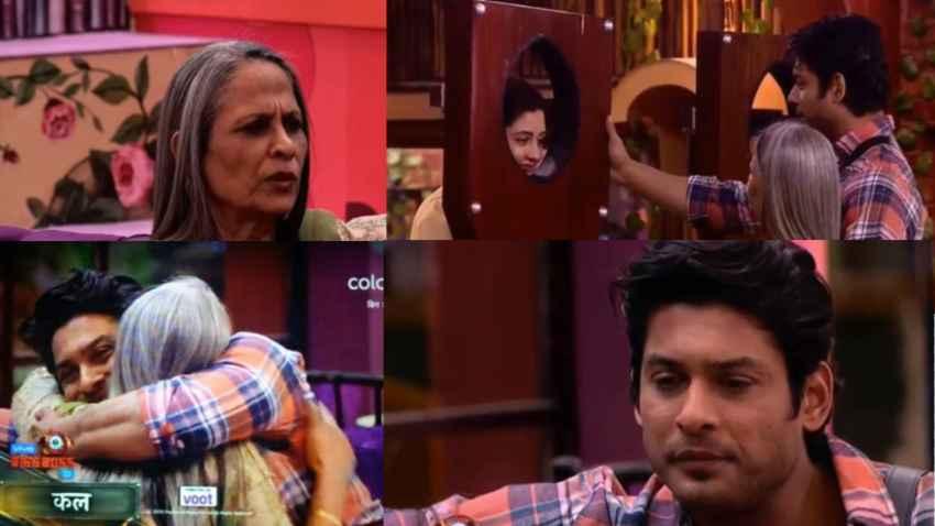 bigg boss 13 siddharth shukla emotional