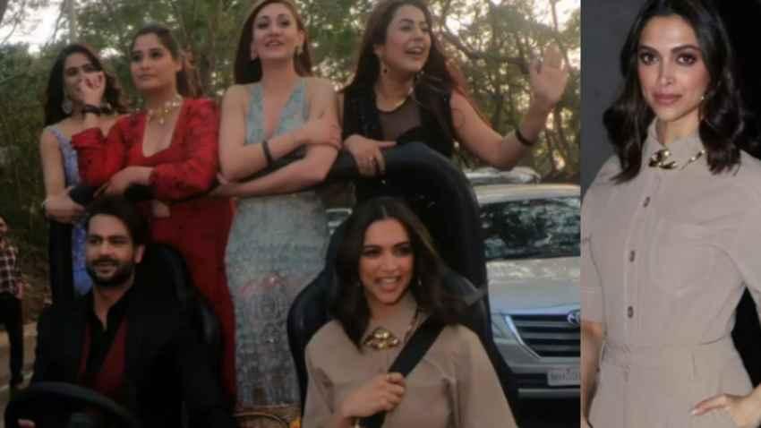 Deepika Padukone Takes Bigg Boss 13 Contestants Outside The