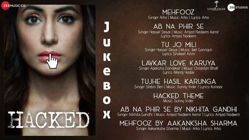 hacked full audio songs hina khan