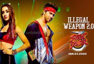 illegal weapon 2.0 song street dancer 3D
