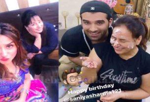 mahira sharma's mother birthday celebration paras chabra