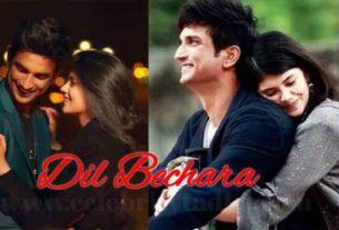 sushant singh rajput film dil bechara sanjana sanghi bollywood news