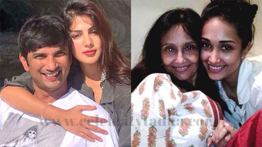 sushant singh rajput jiah Khan's mother Rhea Chakraborty