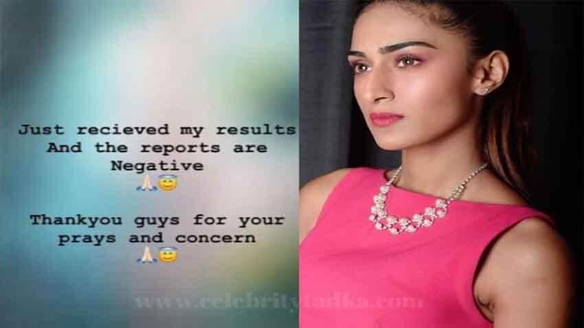 Erica Fernandes Tests Negative for coronavirus thanks her fans for concern