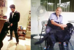 Sushant Singh Rajput sister Shweta Singh Kirti Shares a Picture of her Father Playing with the late Actors Pet Dog Fudge