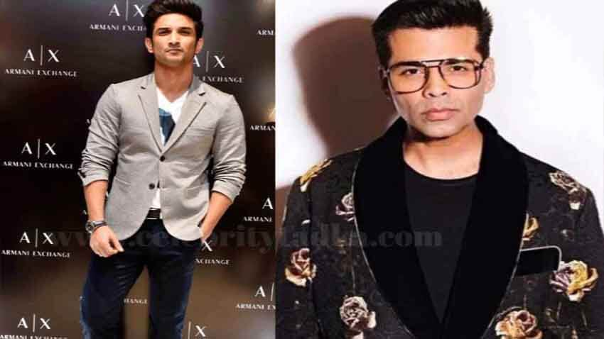 karan johar to take legal action against online trolls Sushant Singh rajput demise