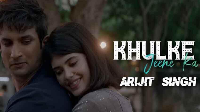 khulke jeena ka song by arijit singh sushant singh rajput