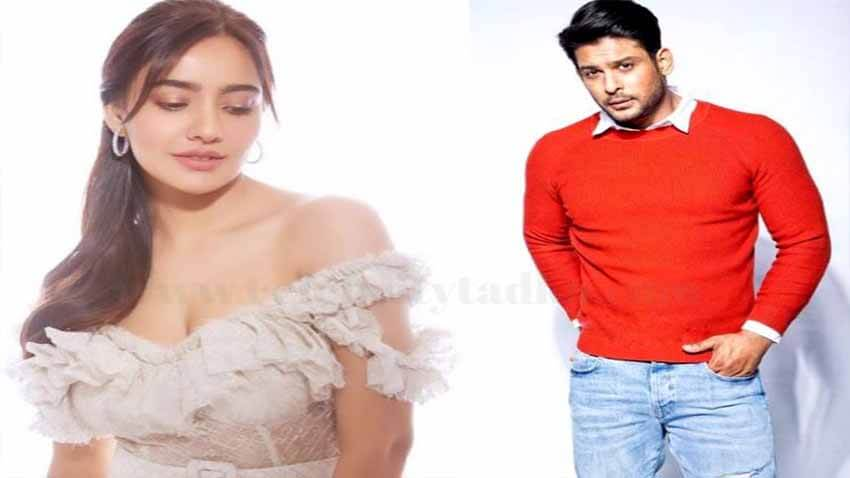 sidharth shukla neha sharma shooting together for new project bollywood news