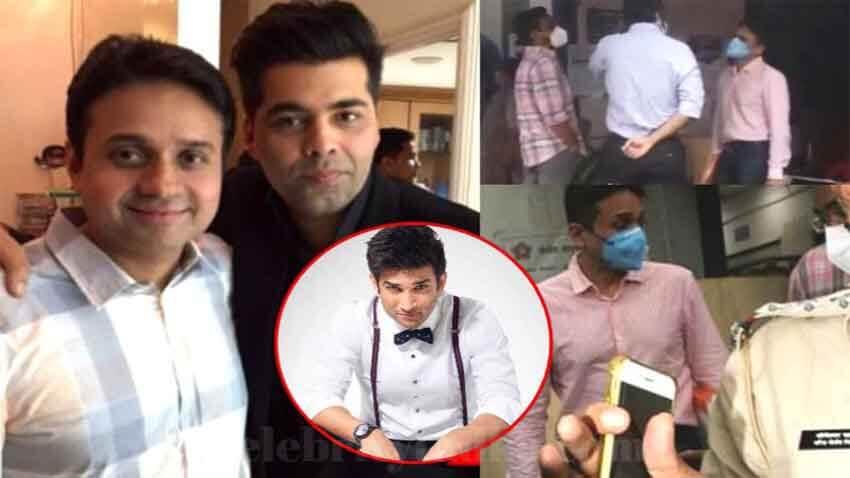 sushant singh rajput case Karan Johar Dharma Productions CEO Apoorva Mehta mumbai police