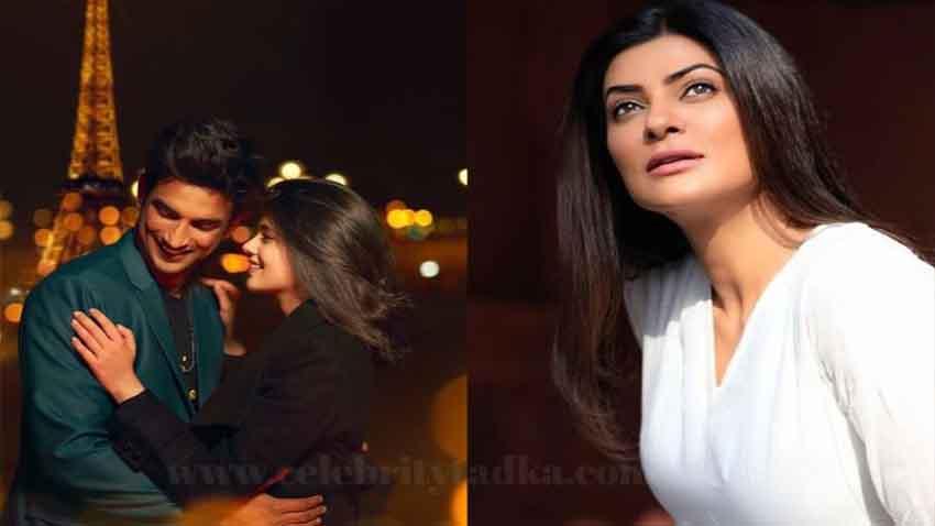 sushant singh rajput dil bechara film sushmita sen remembers him