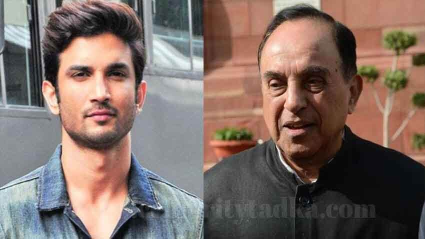 sushant singh rajput suicide case Subramanian Swamy's appointed Advocate wrote letter to Mumbai Police