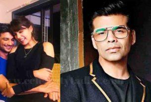 sushant singh rajput suicide case rhea chakraborty karan johar mumbai police