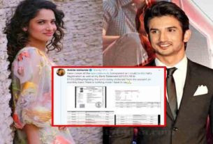 Ankita Lokhande Ceases the reports of Sushant Singh Rajput paid for her flat
