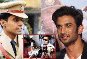 IPS Vinay Tiwari who arrived Mumbai to Probe Sushant Singh Rajput Case forcibly Quarantined by BMC