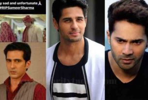 Sameer sharma committed suicide celebrities mourns his demise