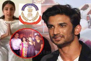 Sushant Singh Rajput Case CBI Registers FIR against Rhea Chakraborty Her Parents