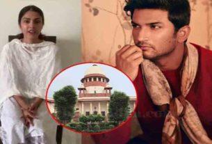 Sushant Singh Rajput Death Case Rhea Chakraborty Files Fresh Plea in Supreme Court