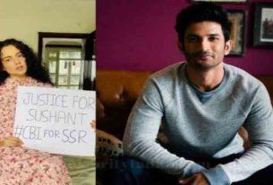 Sushant Singh Rajput case Kangana ranaut demands cbi probe