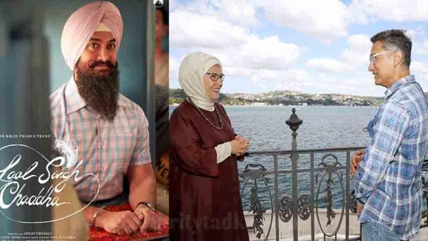 aamir khan meet Turkish First Lady Emine Erdogan on Laal Singh Chaddha Shoot
