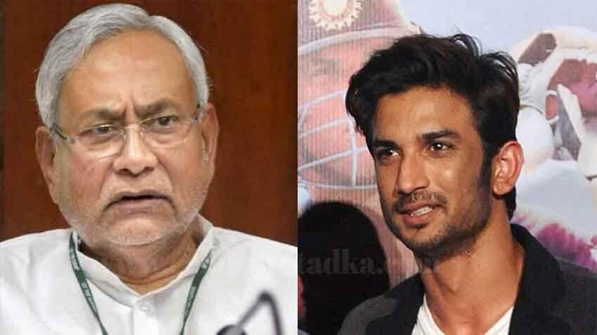 sushant singh rajput case cbi probe Bihar CM nitish kumar