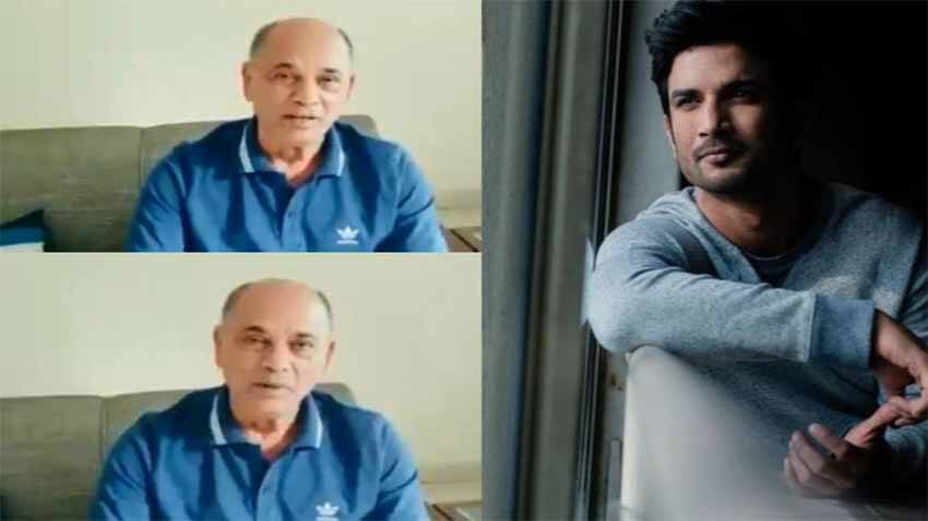 sushant singh rajput father kk singh video statement mumbai bandra police