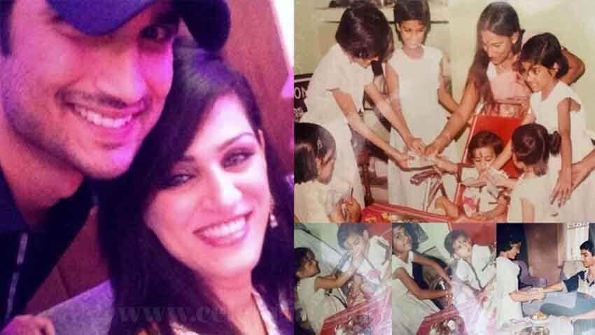 sushant singh rajput sisters shweta singh kirti raksha bandhan 2020