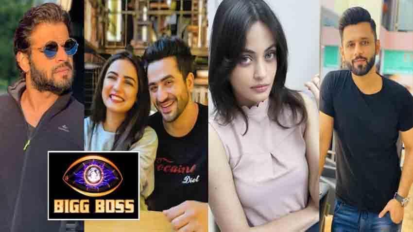 BIgg Boss 14 confirmed contestant list 2020 karan patel aly goni jasmin bhasin pavitra punia salman khan