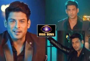 Bigg Boss 13 winner sidharth shukla shoots for Bigg Boss 14 promo salman khan