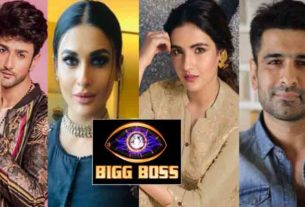 Bigg boss 14 contestant list salman khan show jasmin bhasin