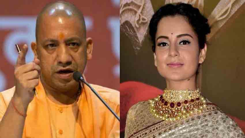 Kangana Ranaut applauds CM Yogi Adityanath move of Planning the Biggest Film City in Noida