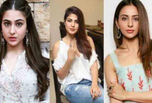 Rhea Chakraborty confesses Sara Ali Khan Rakul Preet Singh Simone Khambatta did drugs with Sushant