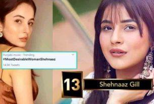 Shehnaaz gill bigg boss 13 most desirable women on TV