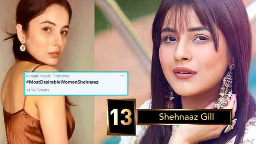 Shehnaaz gill bigg boss 13 most desirable women on TV